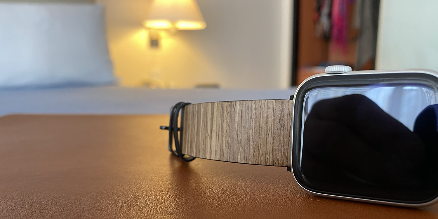 Mini-review: Bandly is an Apple Watch band made from real wood