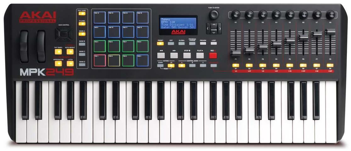 Best MIDI keyboards for Mac - 2019 - Akai MPK