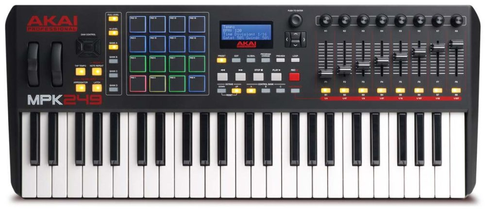 Best MIDI keyboards for Mac - 2019 - Akai MPK