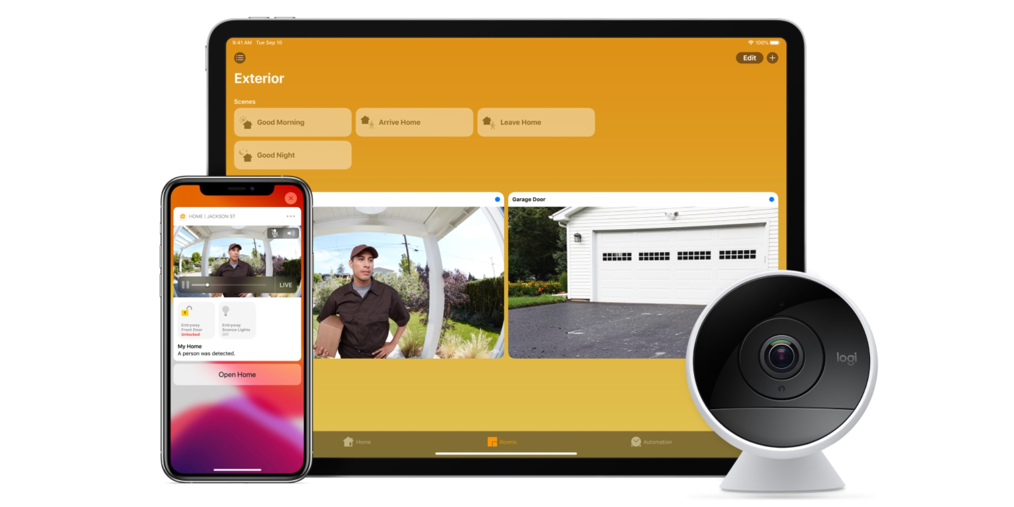 HomeKit Secure Video Logi Circle 2