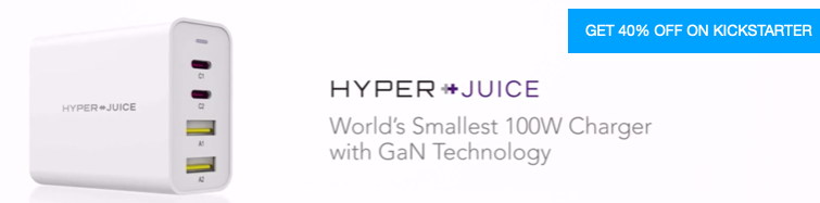 The World's Smallest 100W Charger in the HyperJuice World