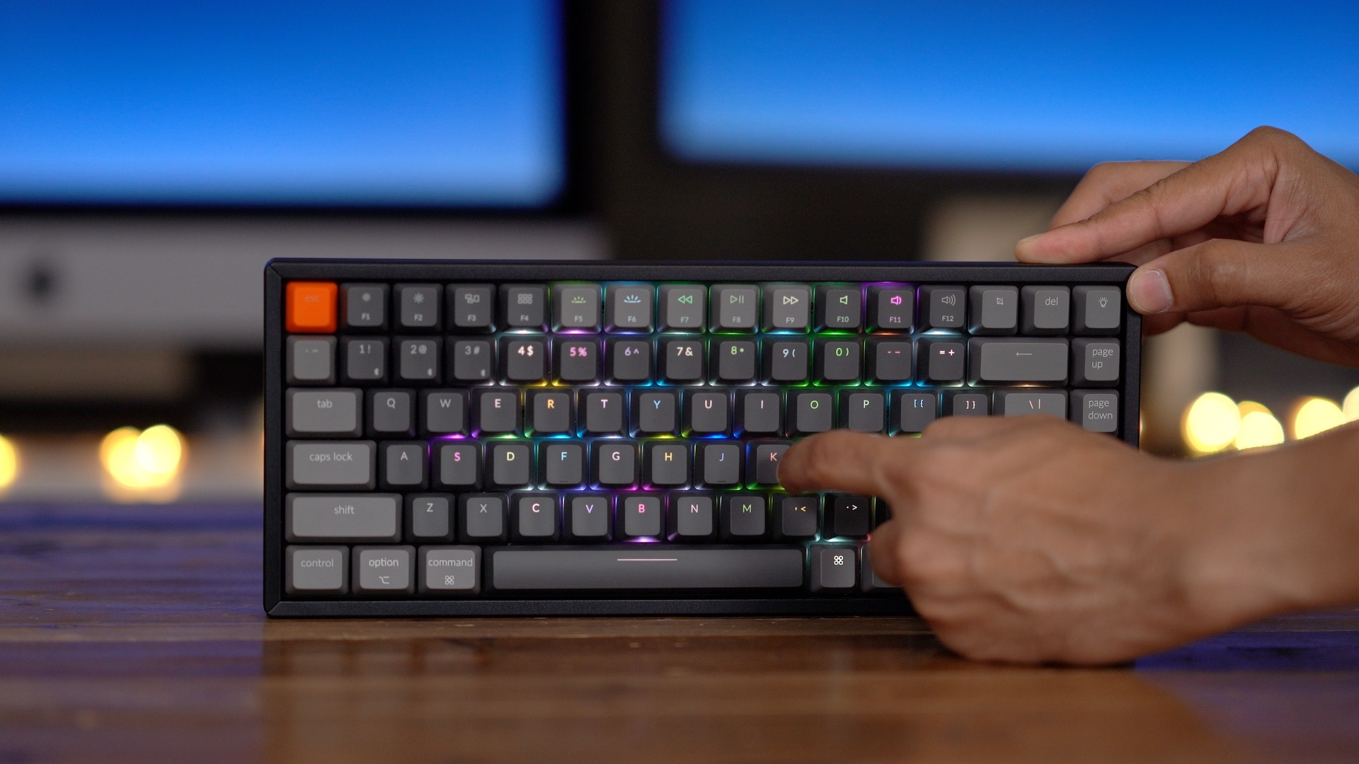Keychron K2 RGB effects
