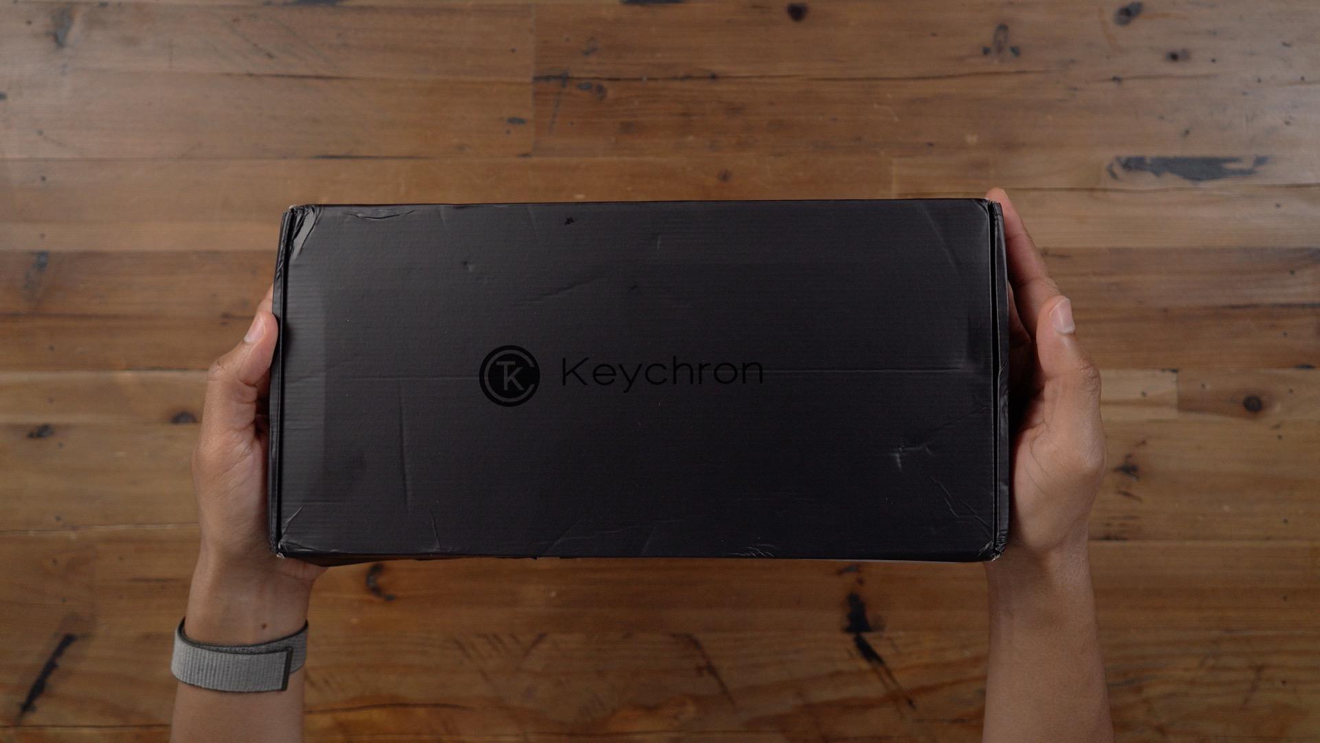 Keychron K2 unboxing