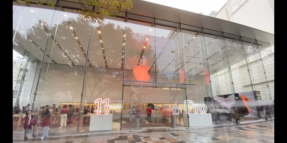 Red Apple Store logos mark run-up to World AIDS Day on Dec 1st