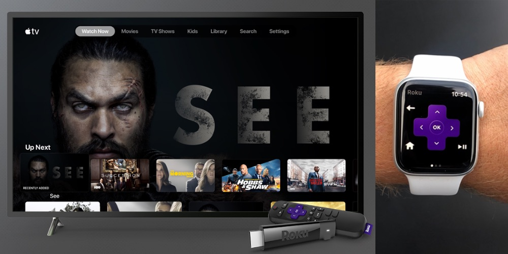 Roku coming to Apple Watch with remote control and voice search following TV+ support