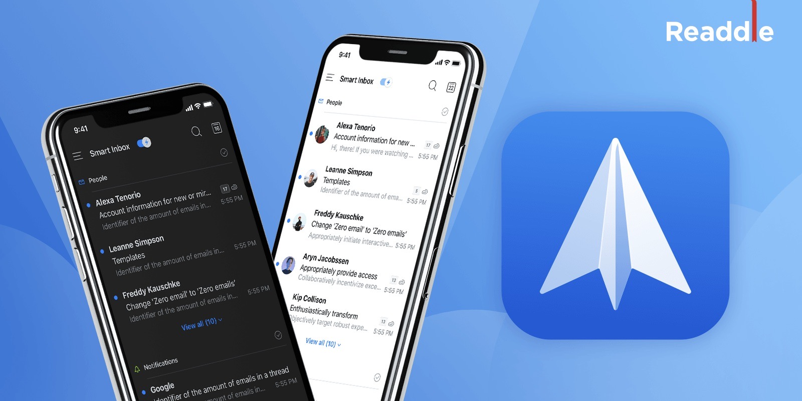 Spark email for iOS gets overhaul with new design, inbox avatars, Dark Mode, multiwindow iPad support