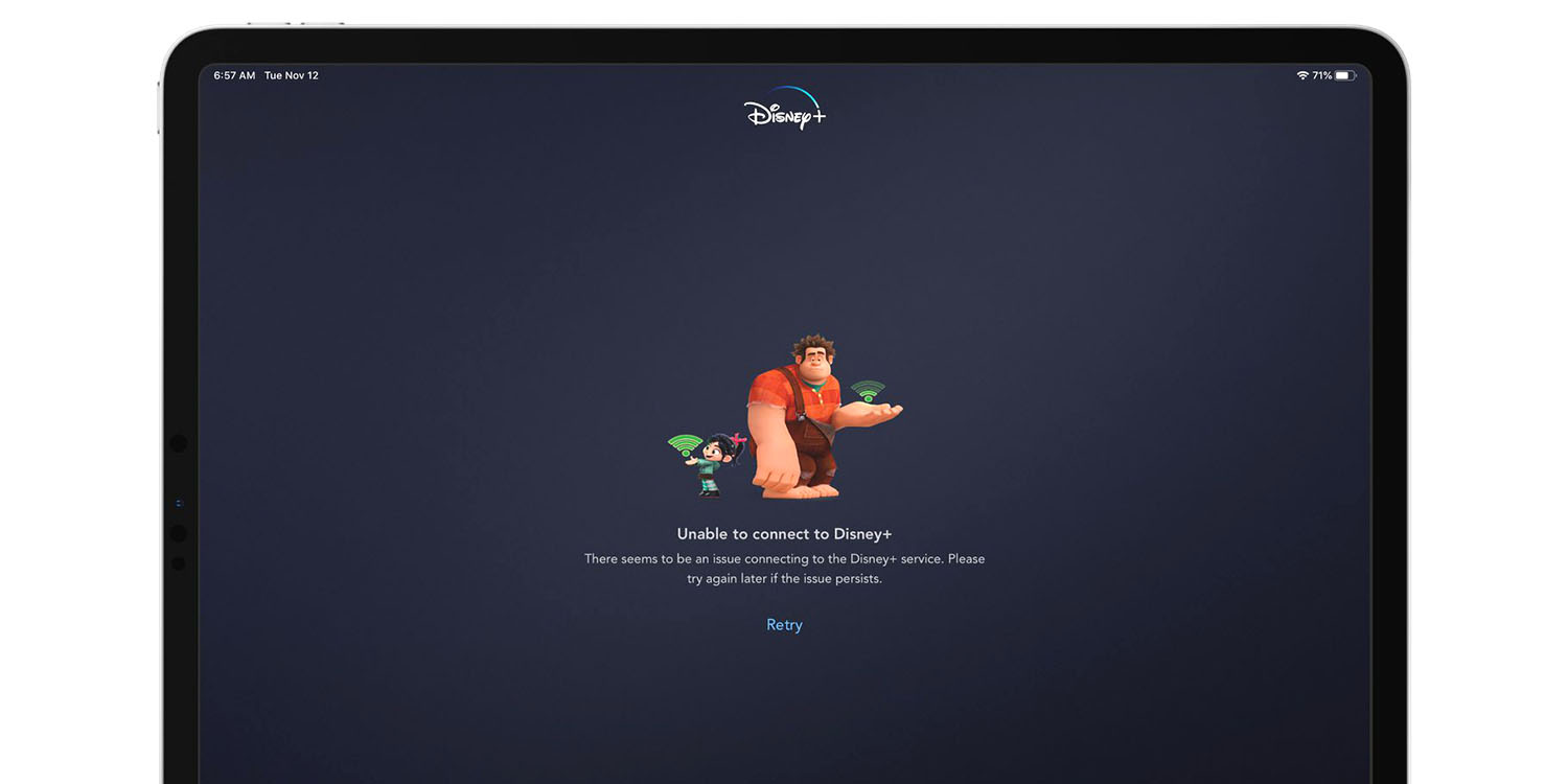 PSA: Unable to connect to Disney+? It's not just you, it's them…