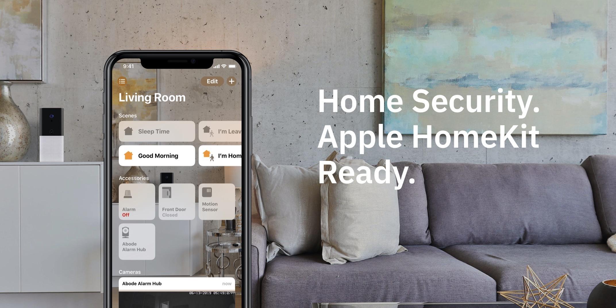 Abode Iota HomeKit home security system