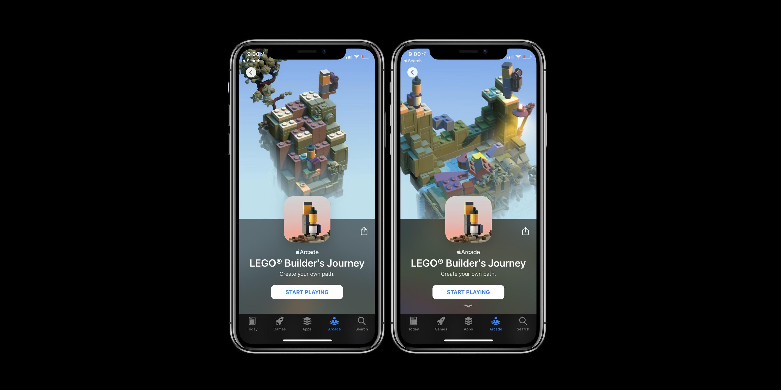 Nouveaux jeux Apple Arcade 12.20