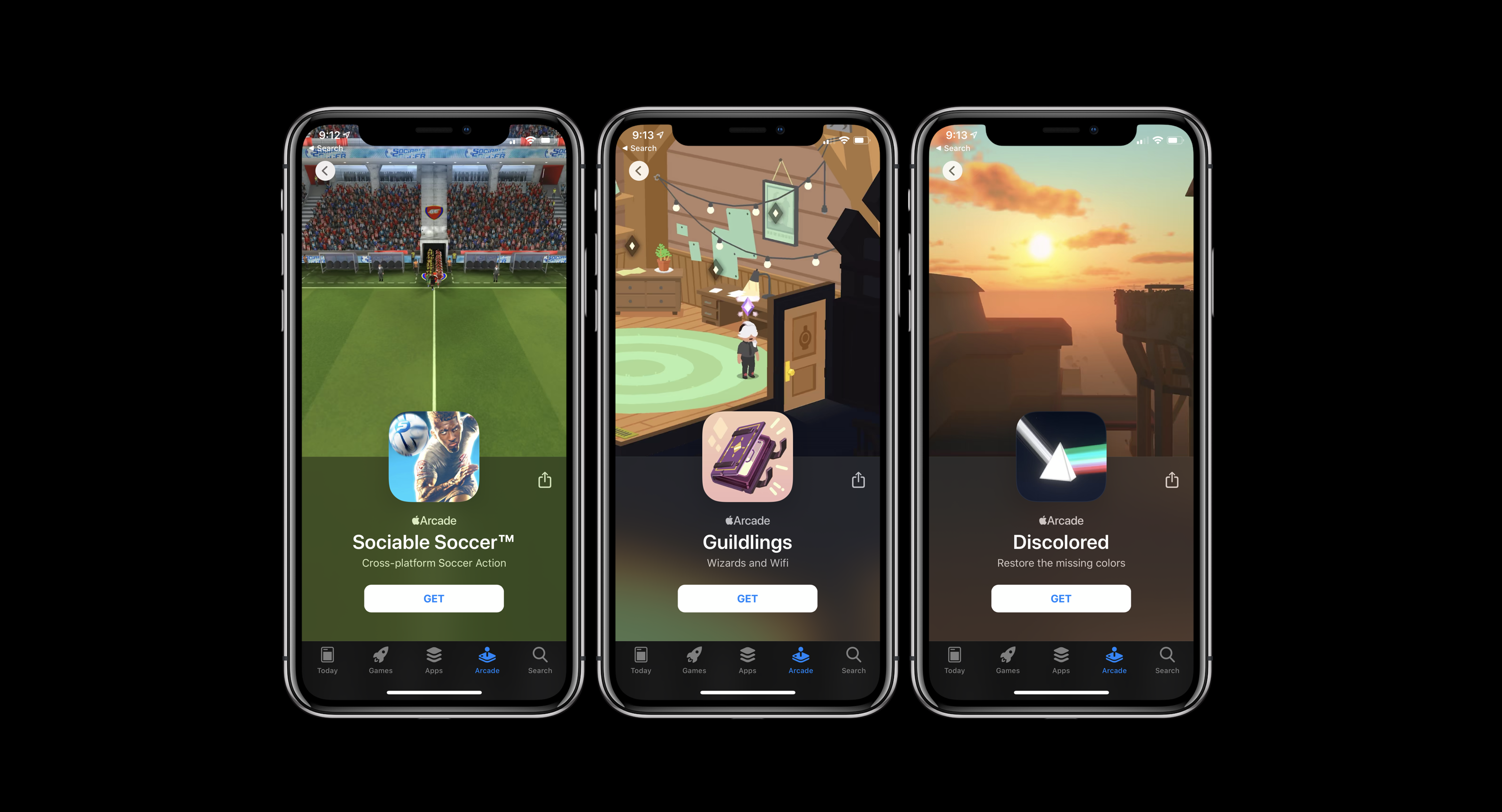 Apple Arcade new games November 8
