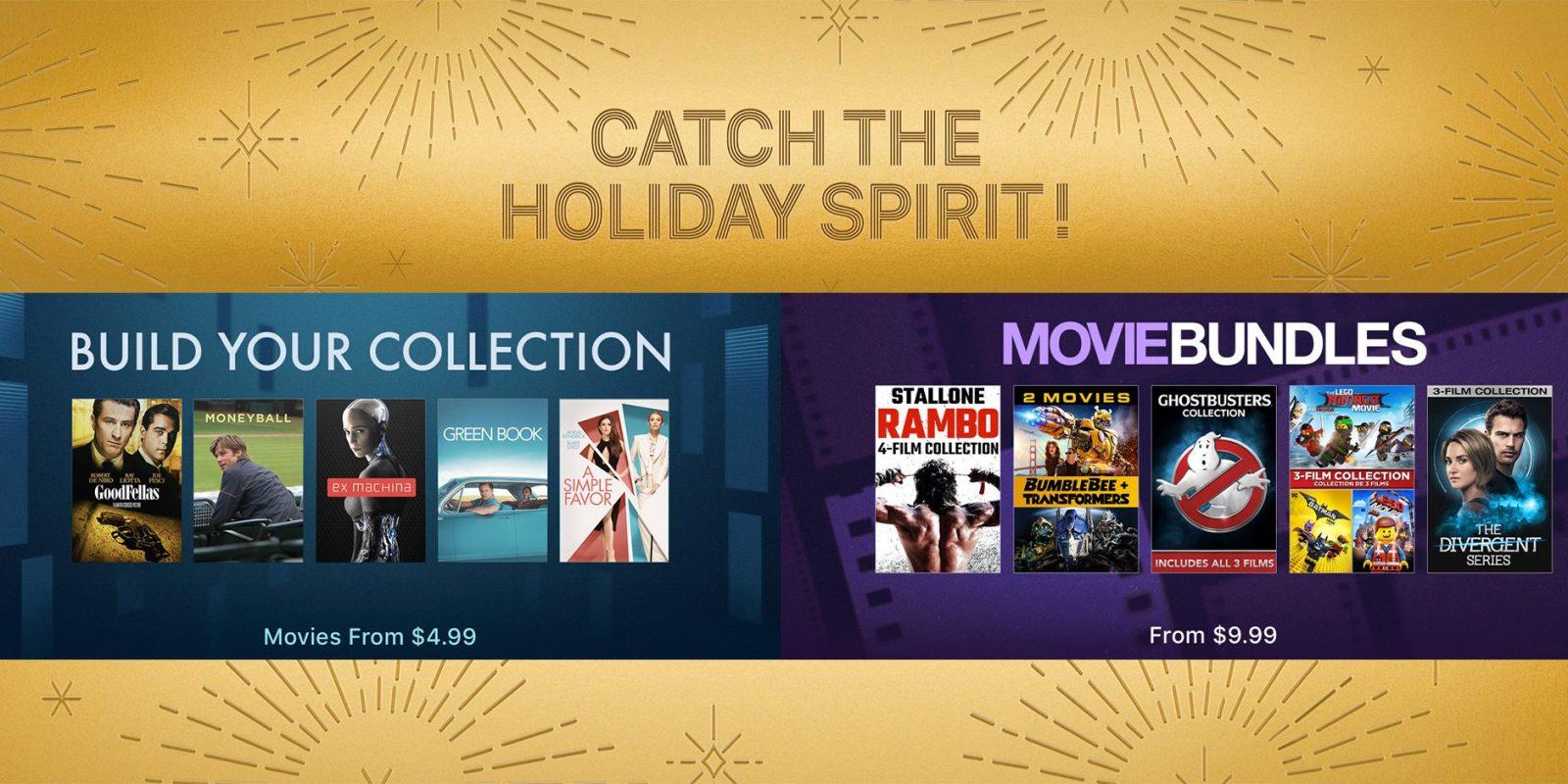 Apple Black Friday movie sale now live from $4: Bundles start at $8, 4K films $5, more