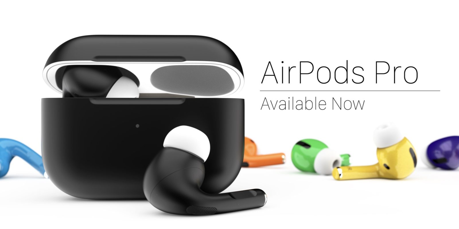 ColorWare brings color to AirPods Pro w/ matte and glossy custom options for $439