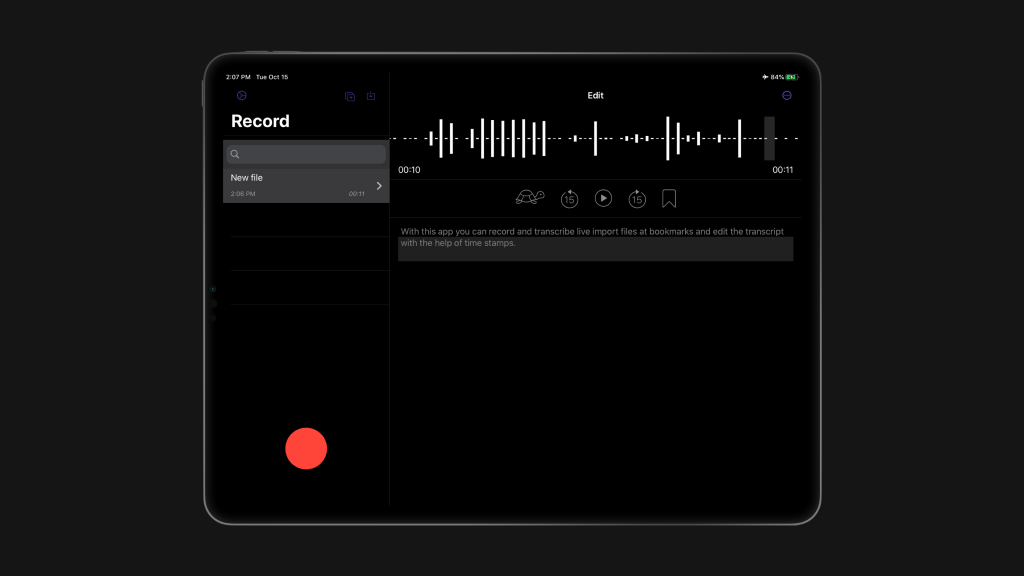 photo of New Dictation app brings advanced offline transcription capabilities to iPhone and iPad image