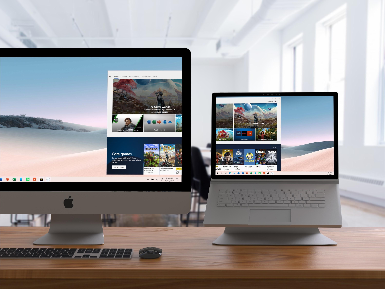 Duet Air Mac PC external display support