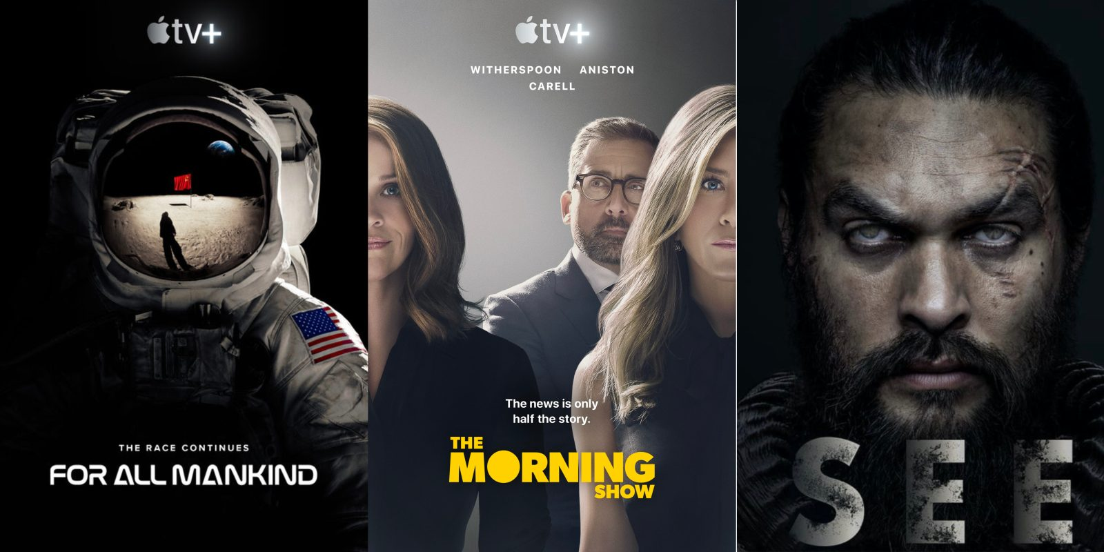 Episode 4 of The Morning Show, See, and For All Mankind now available on Apple TV+
