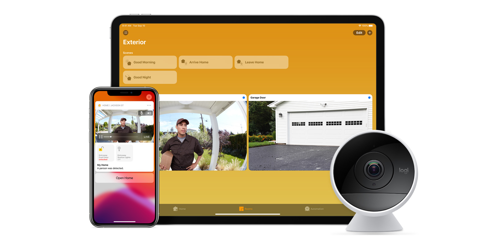 Apple lists the cameras and routers that will be compatible with the latest HomeKit features