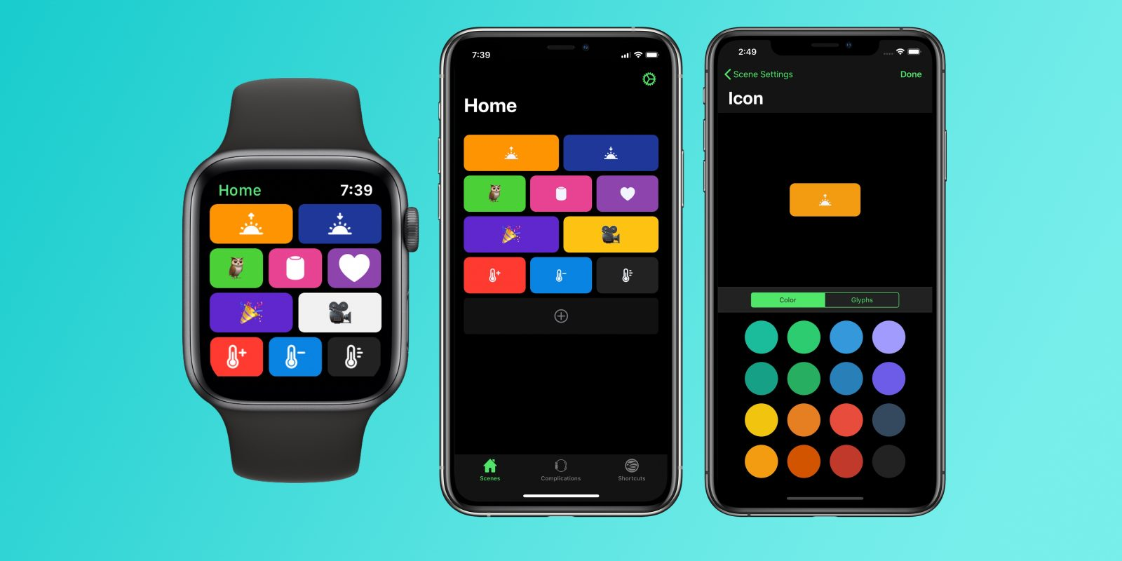 HomeRun Apple Watch app gains tons of new icons for controlling HomeKit with complications