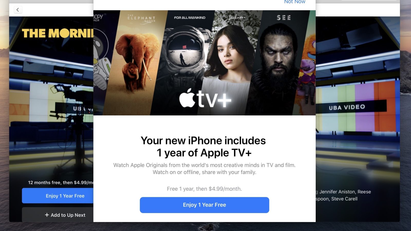 Here's how to get your free year of Apple TV+