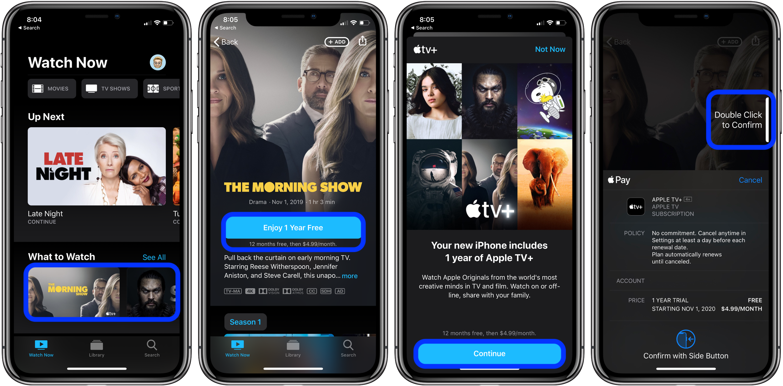 How to get free year Apple TV+ walkthrough 1