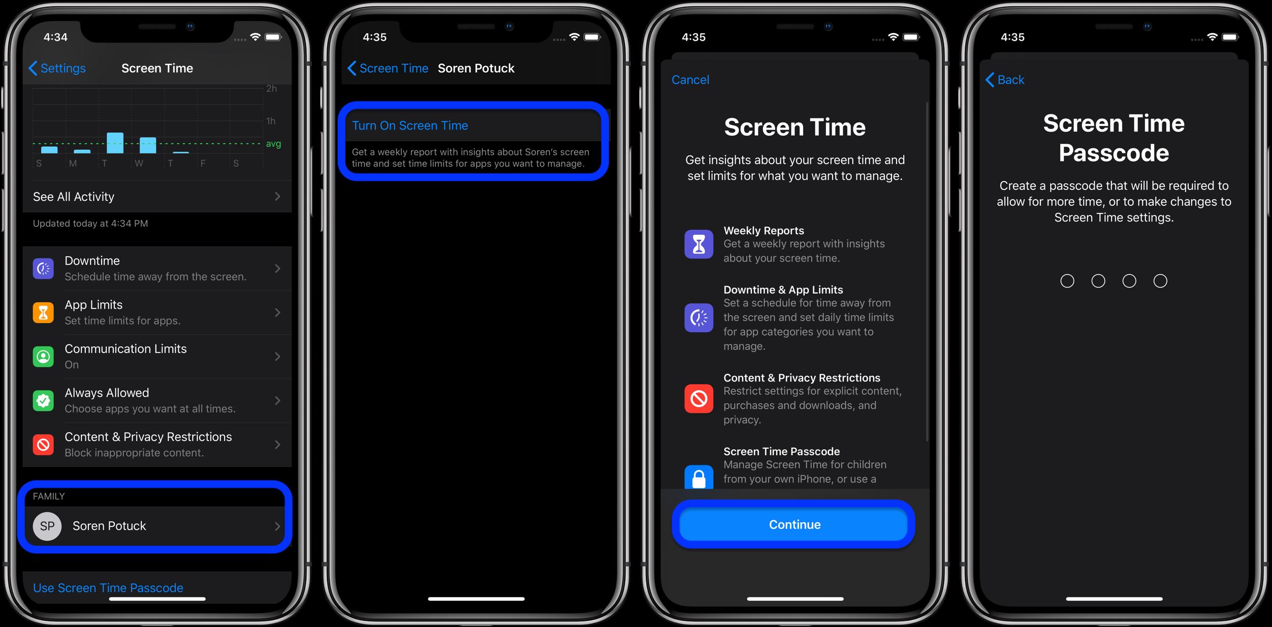 iOS 13.3 小技巧:如何通过「屏幕使用时间」管理孩子的短信、电话?