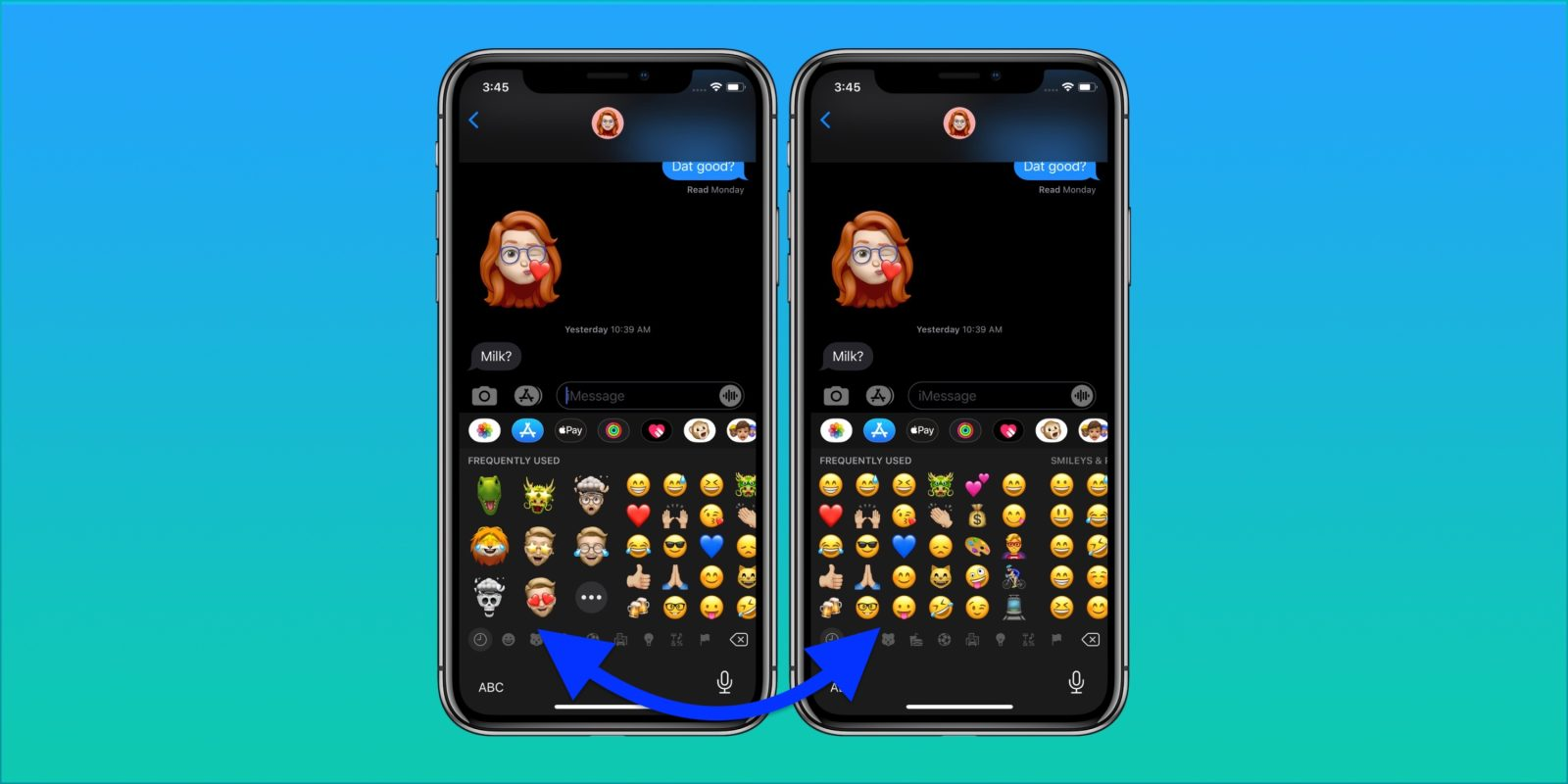 Tired of seeing Memoji Stickers on your emoji keyboard? There's a fix for that