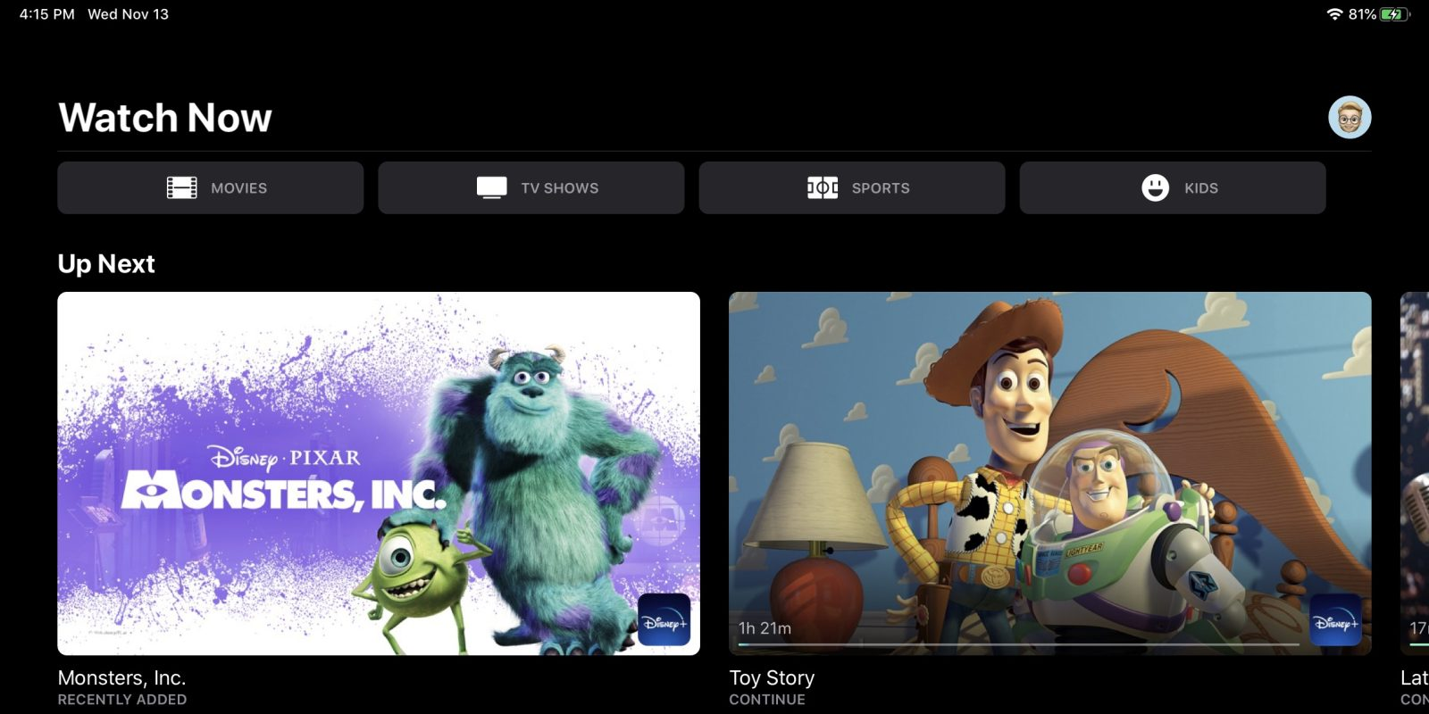 How to use Disney+ with the Apple TV app and Up Next