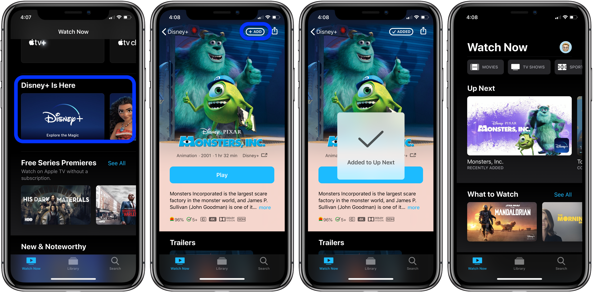 Как смотреть Disney + на приложении Apple TV с iPhone, iPad, Apple TV