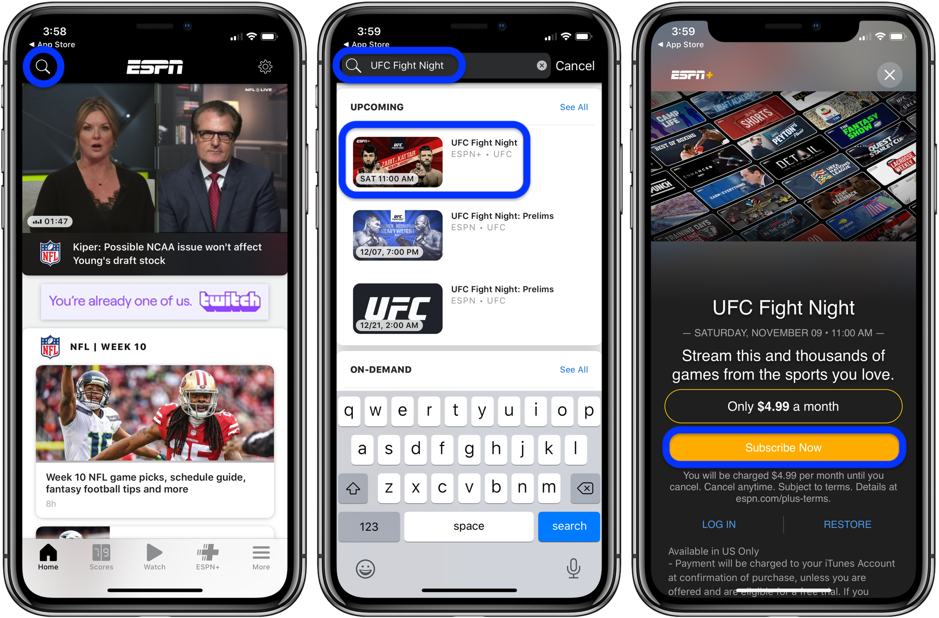 Как смотреть UFC Fight Night 163: Москва на iPhone, iPad и Apple TV