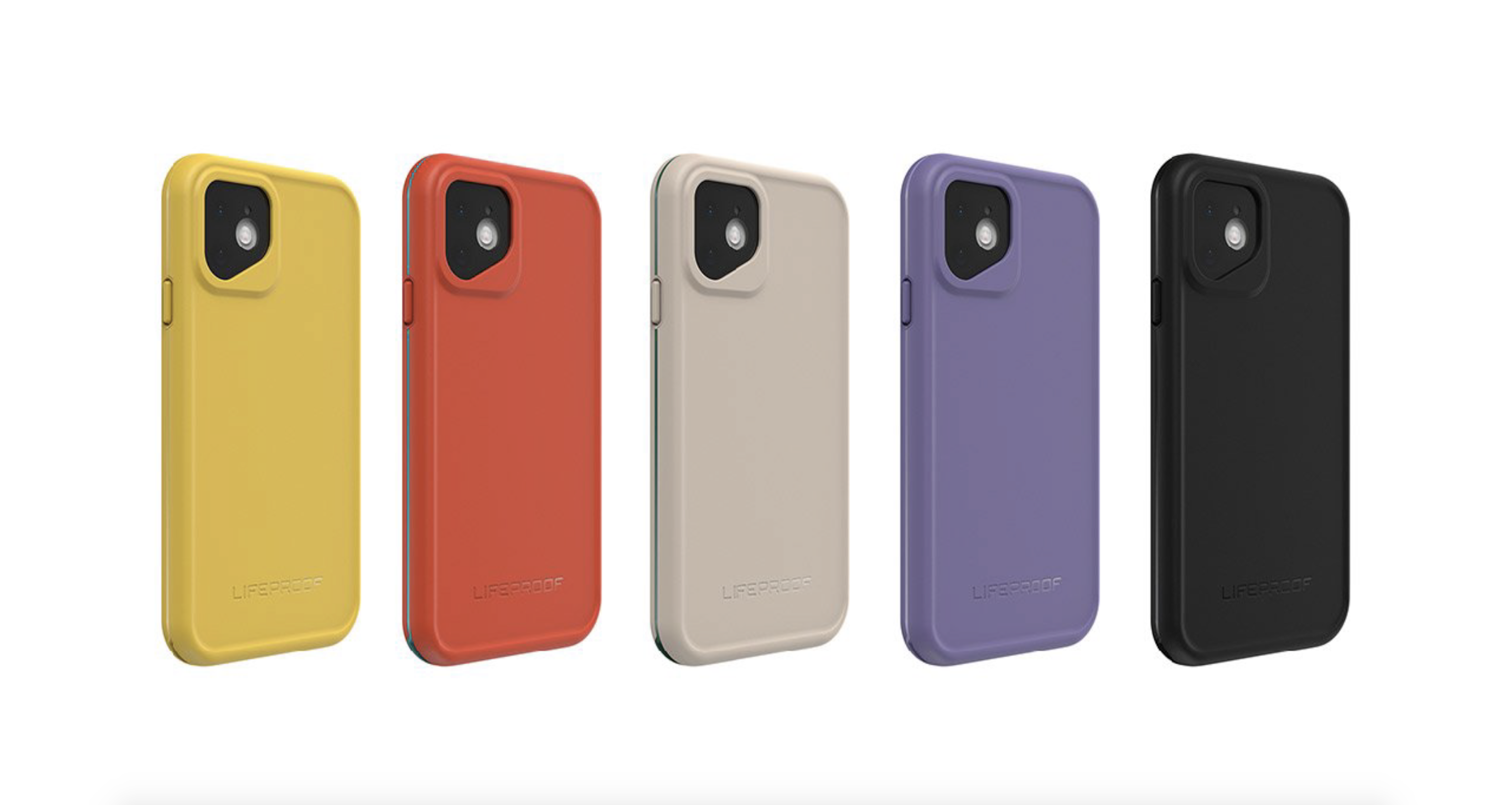 LifeProof waterproof iPhone 11 case colors