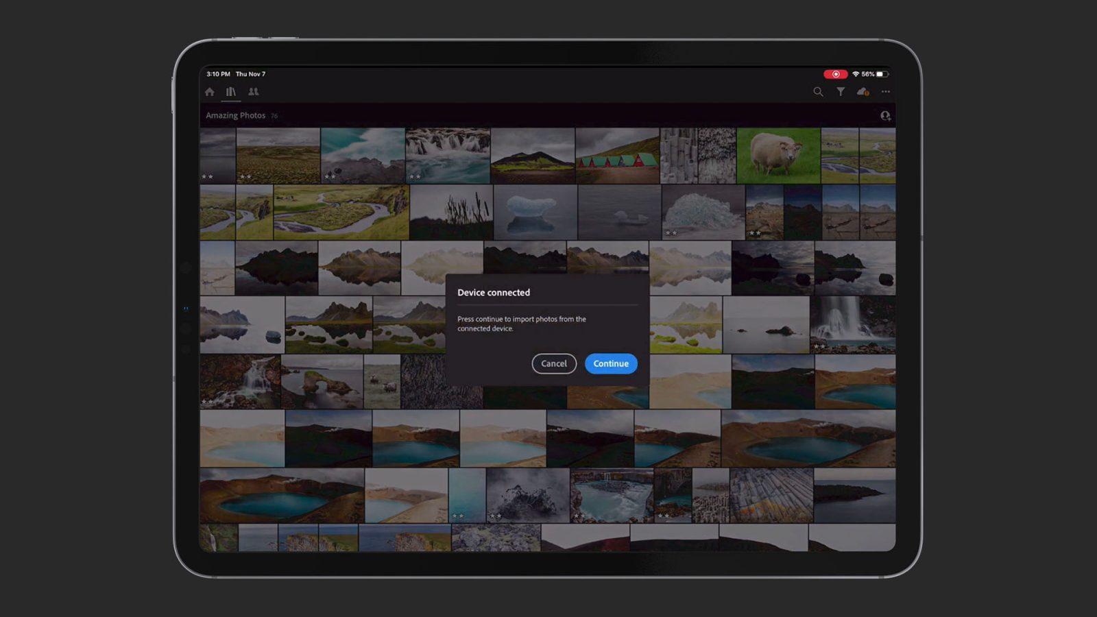 Adobe previews direct photo import coming to Lightroom on iPad