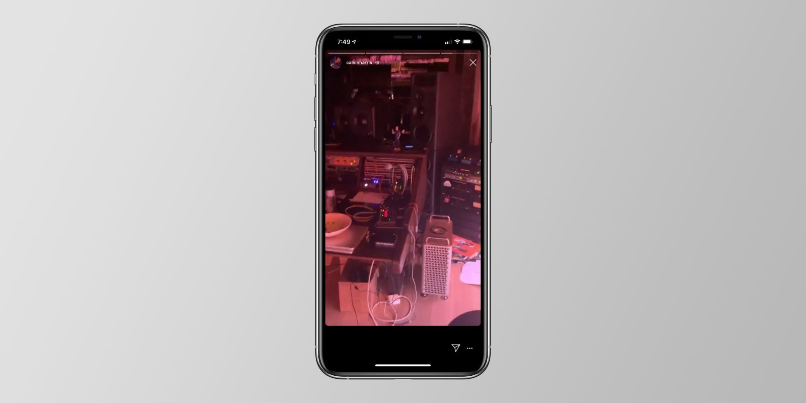 New Mac Pro makes appearance in DJ Calvin Harris' studio ahead of imminent release
