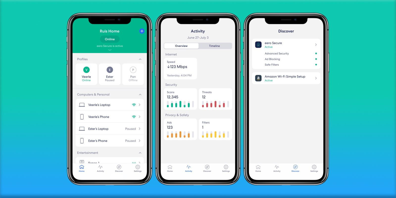Eero For Ios Gets Cleaner Tab Design