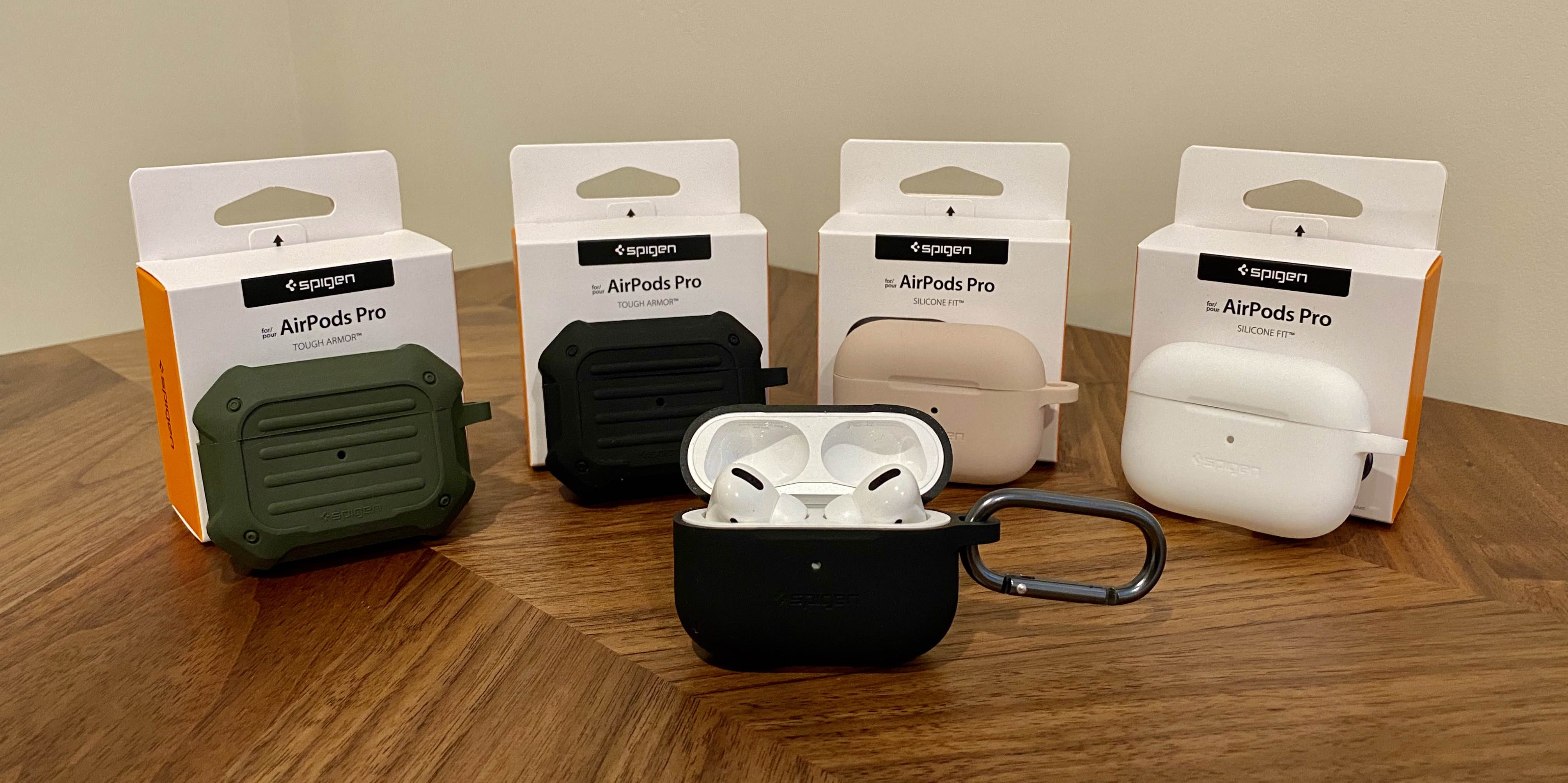 Spigen AirPods Pro case black open