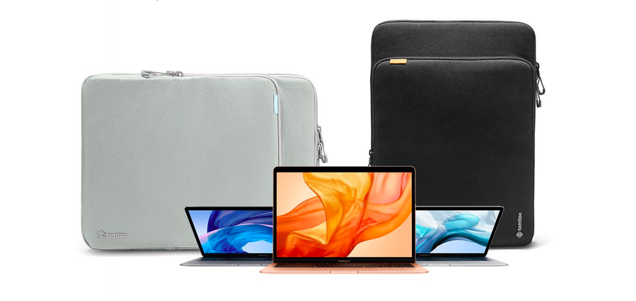 3d6b54367b2b Protect your MacBook w/ tomtoc's new Premium Laptop Sleeve 15% off ...