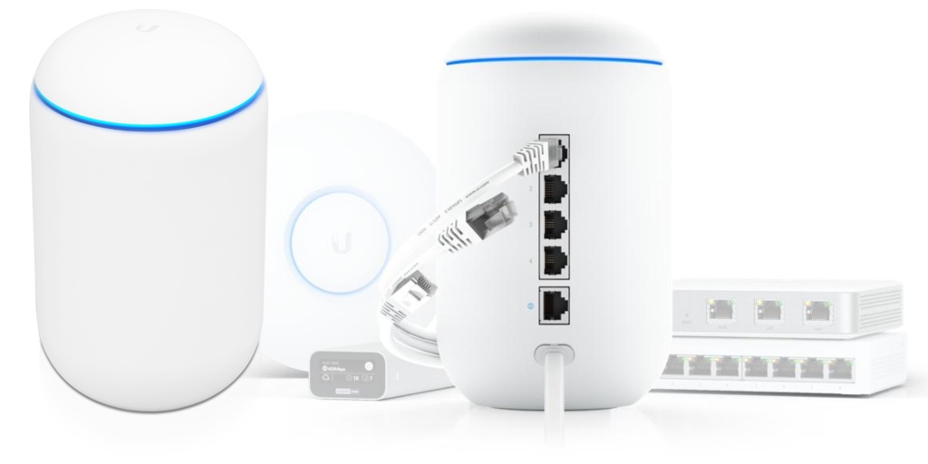 photo of [Update: New access point too] UniFi Dream Machine blends WiFi router and Gigabit switch w/ advanced security for… image