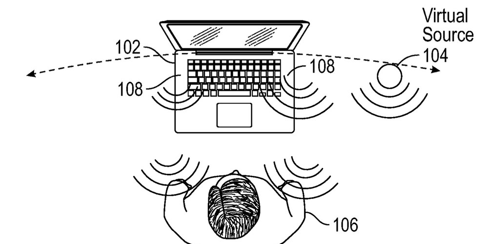 Second Apple patent on virtual positioning of audio hints at AR on MacBooks