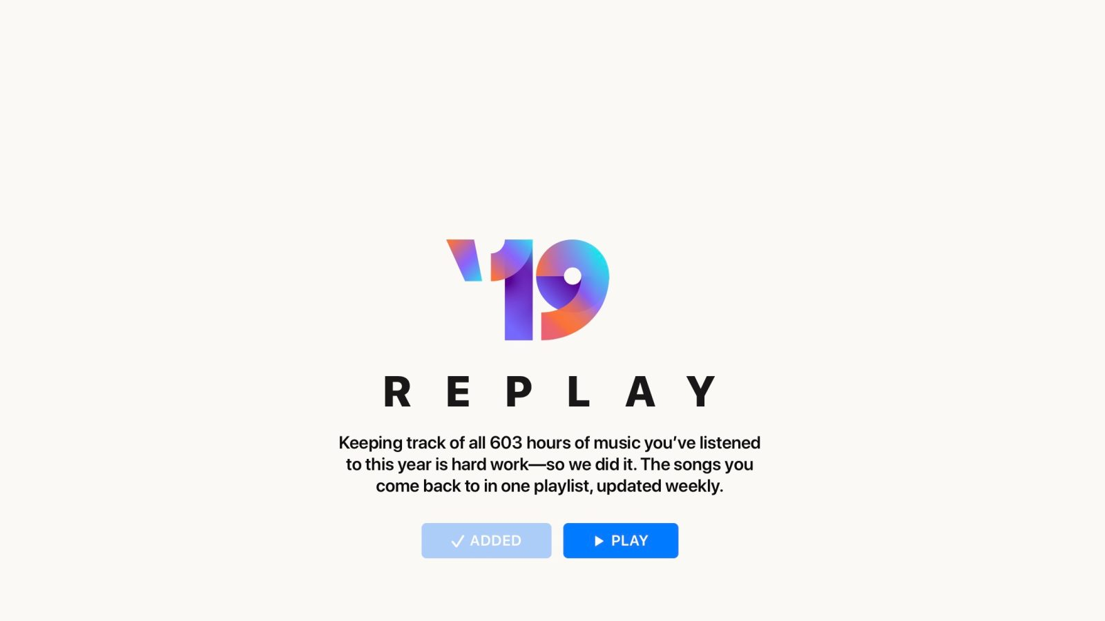 How to visualize your Apple Music Replay and Spotify Wrapped year in review stats