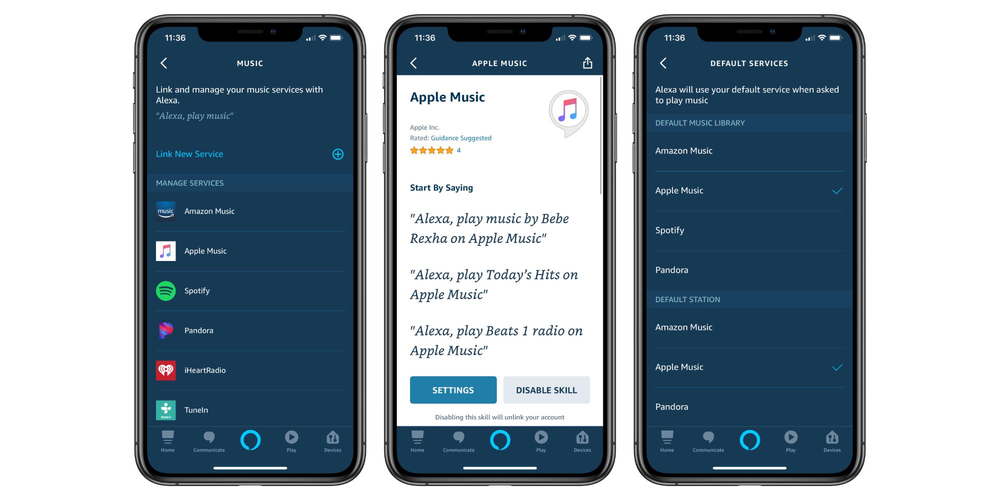 Apple Music on Alexa