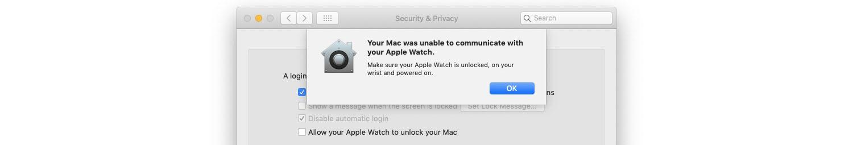 Apple Watch glitch