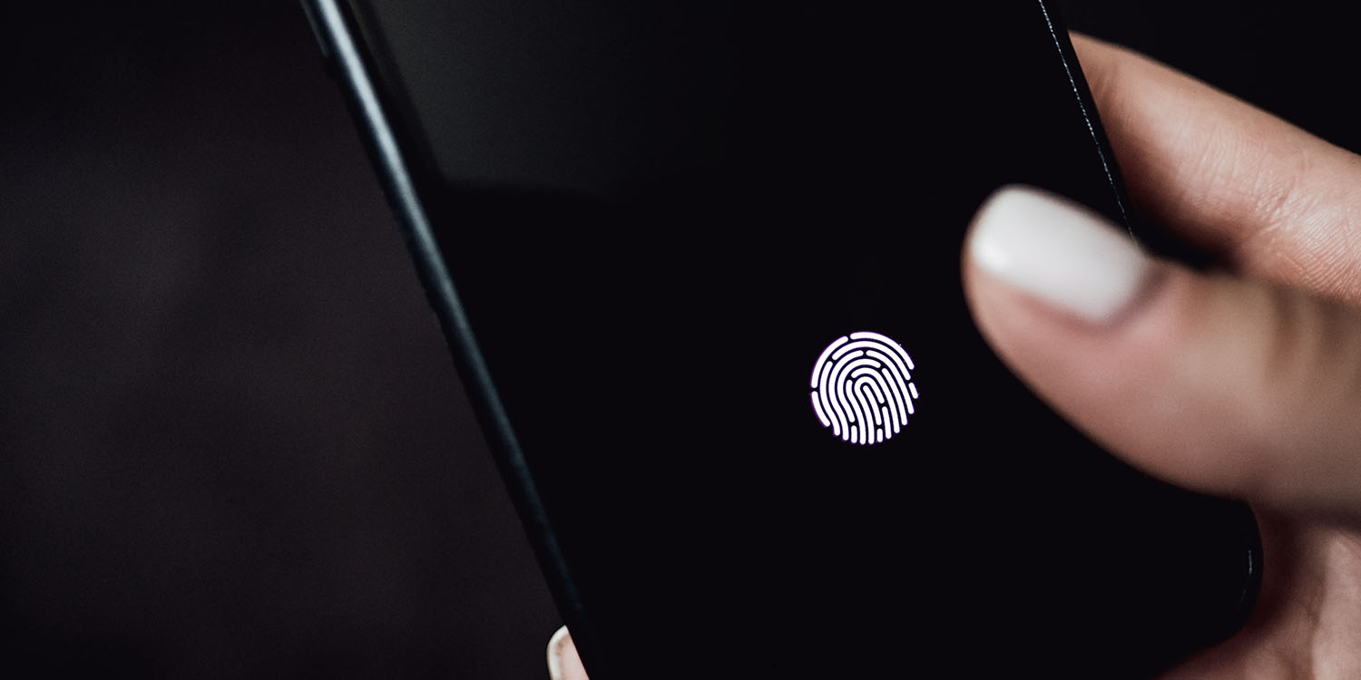 Apple wins patent for under-display Touch ID, already uses tech in MBP 16