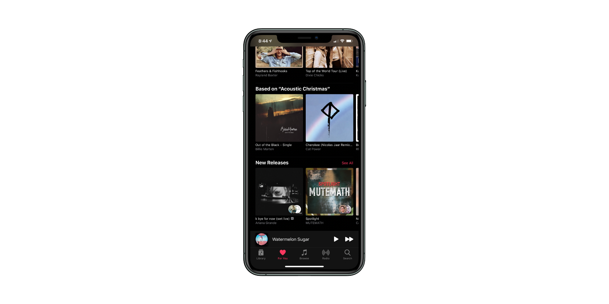 For You Apple Music