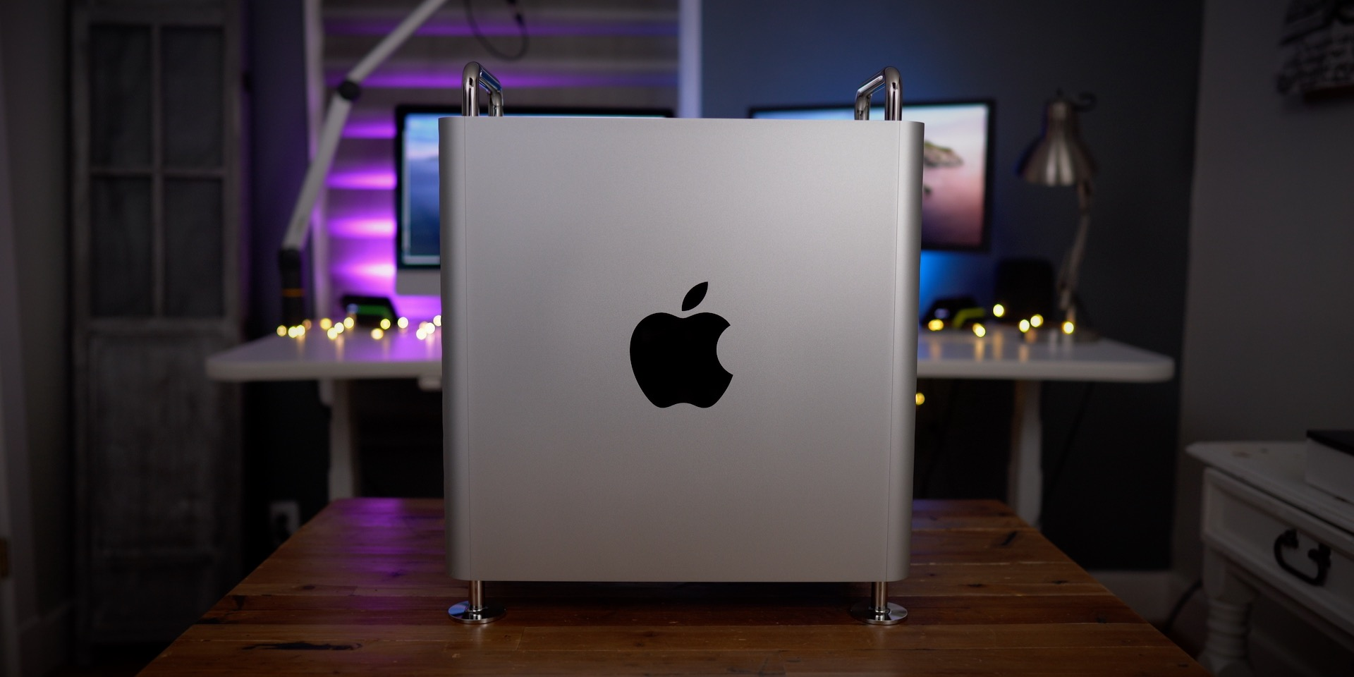 Apple logo Mac Pro