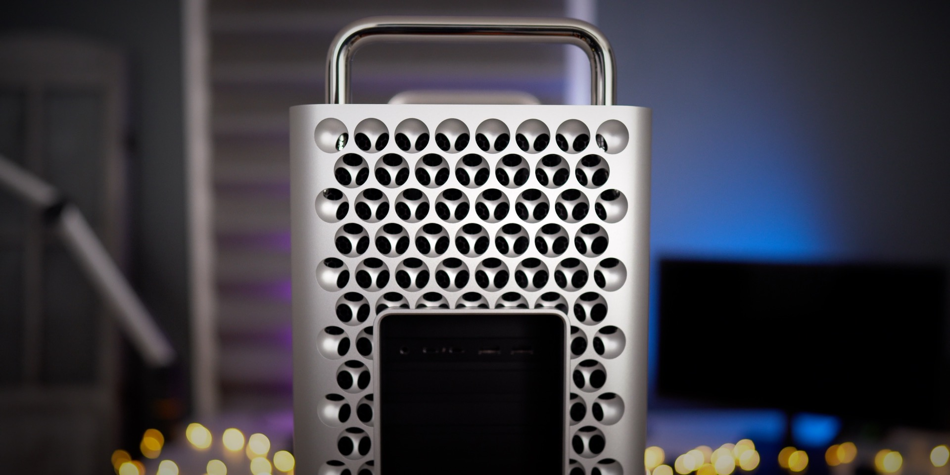 Rear of Mac Pro