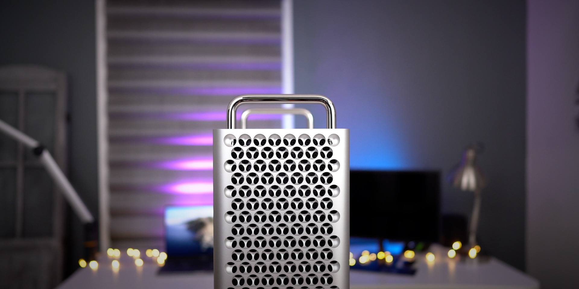 Mac Pro lattice pattern