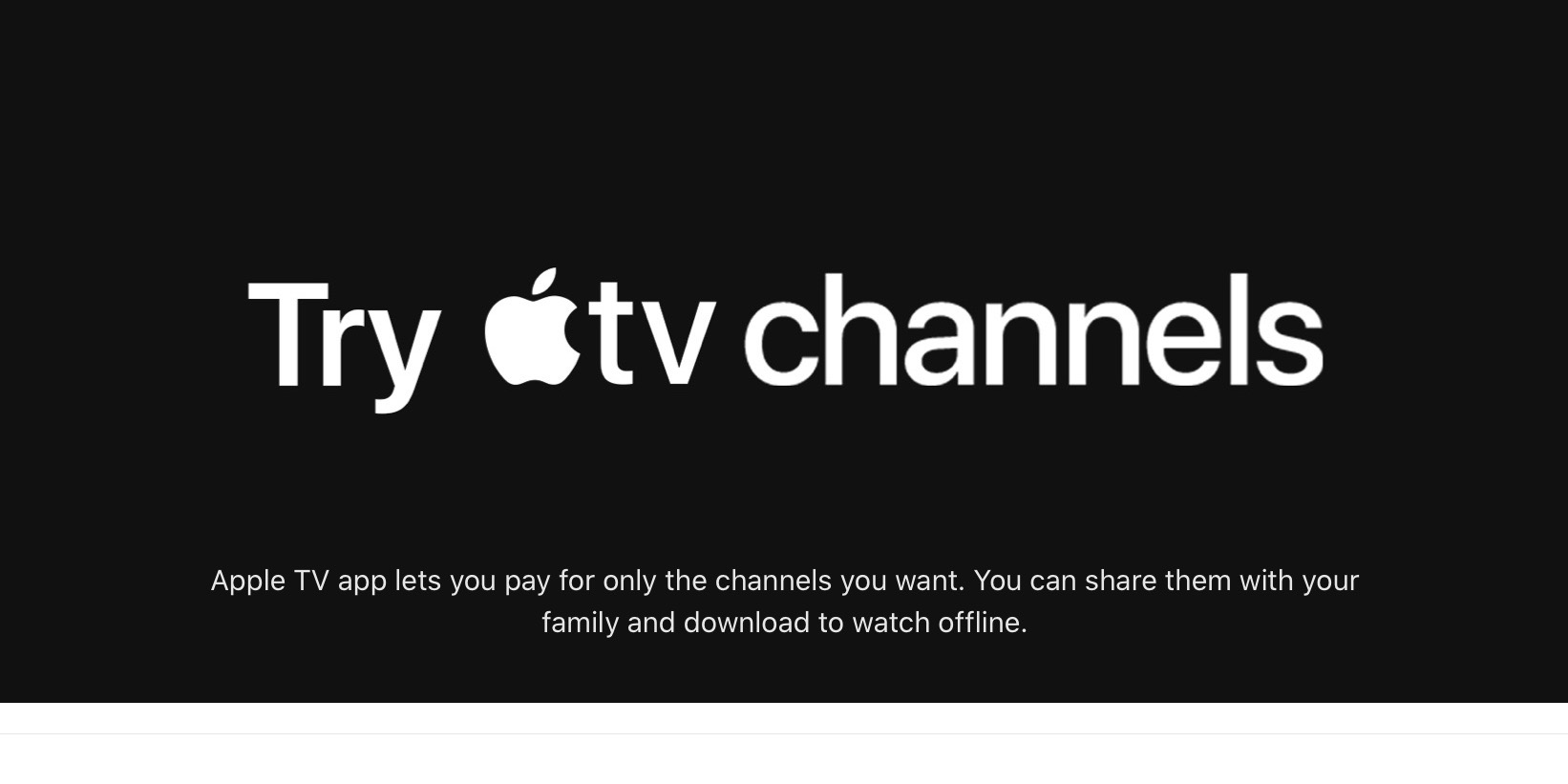 photo of Apple TV Channels offering free EPIX access, extended free trials of Showtime and many more image