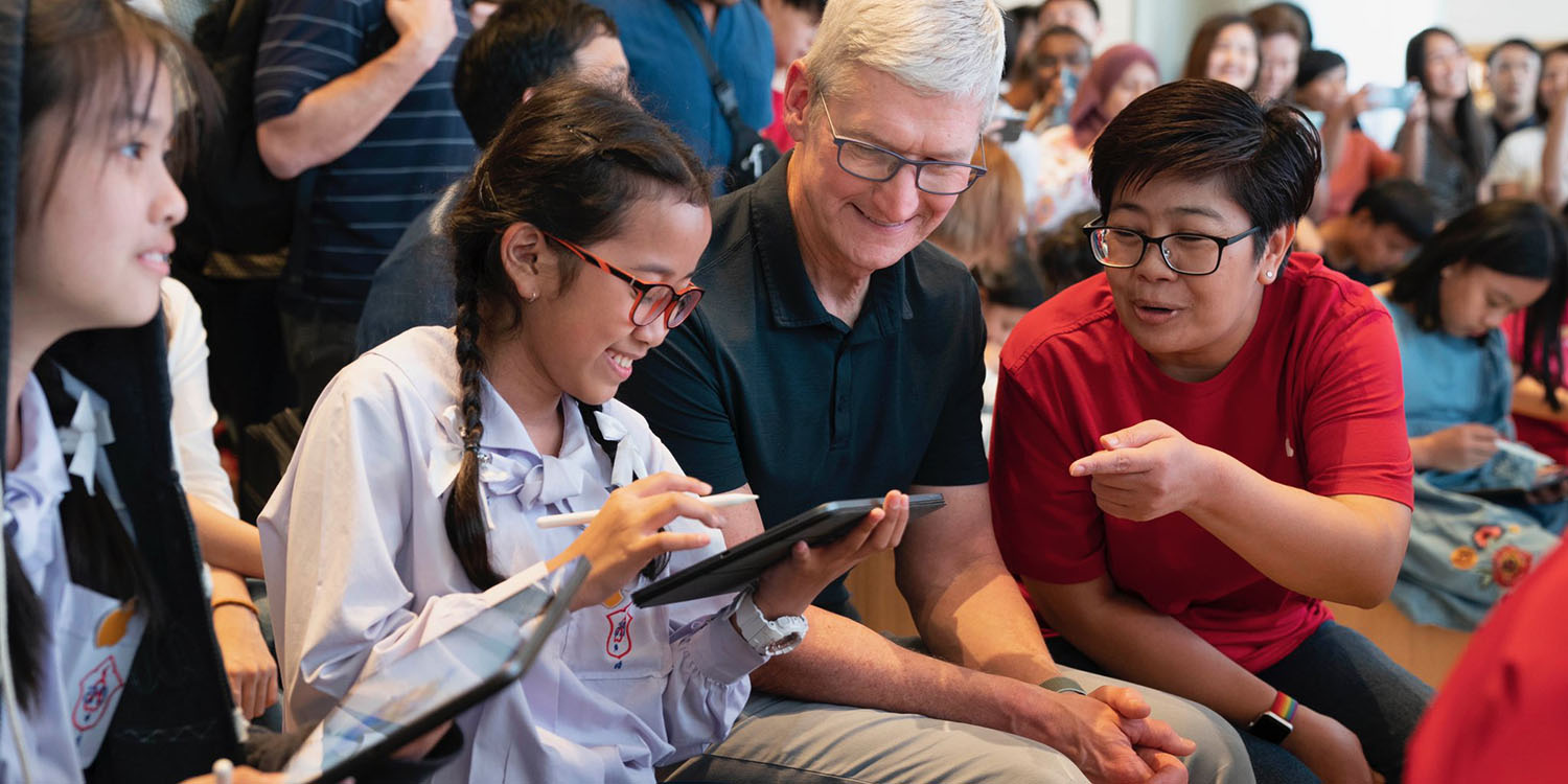 Tim Cook announces EdFarm and Apple to use AR for transformative educational tools - 9to5Mac
