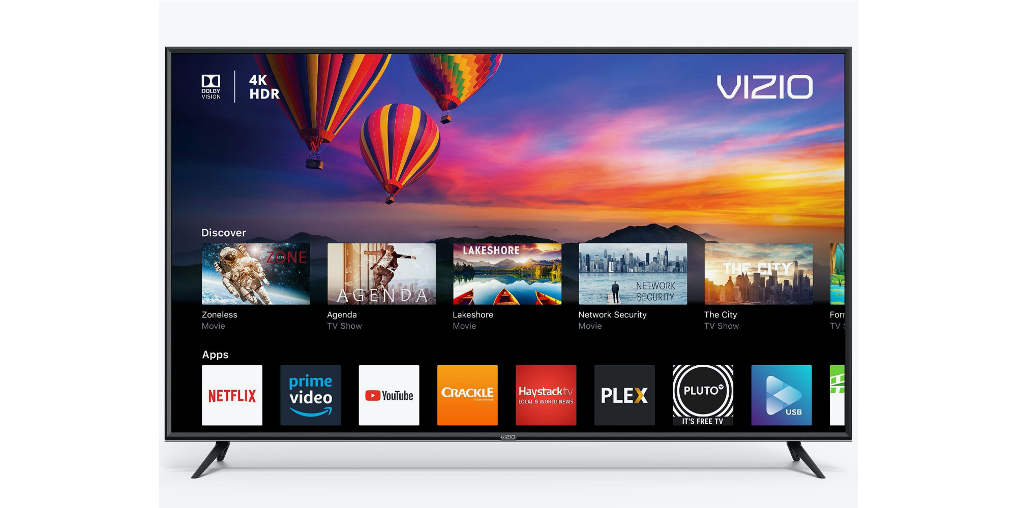 Vizio TV with AirPlay 2 in the classroom