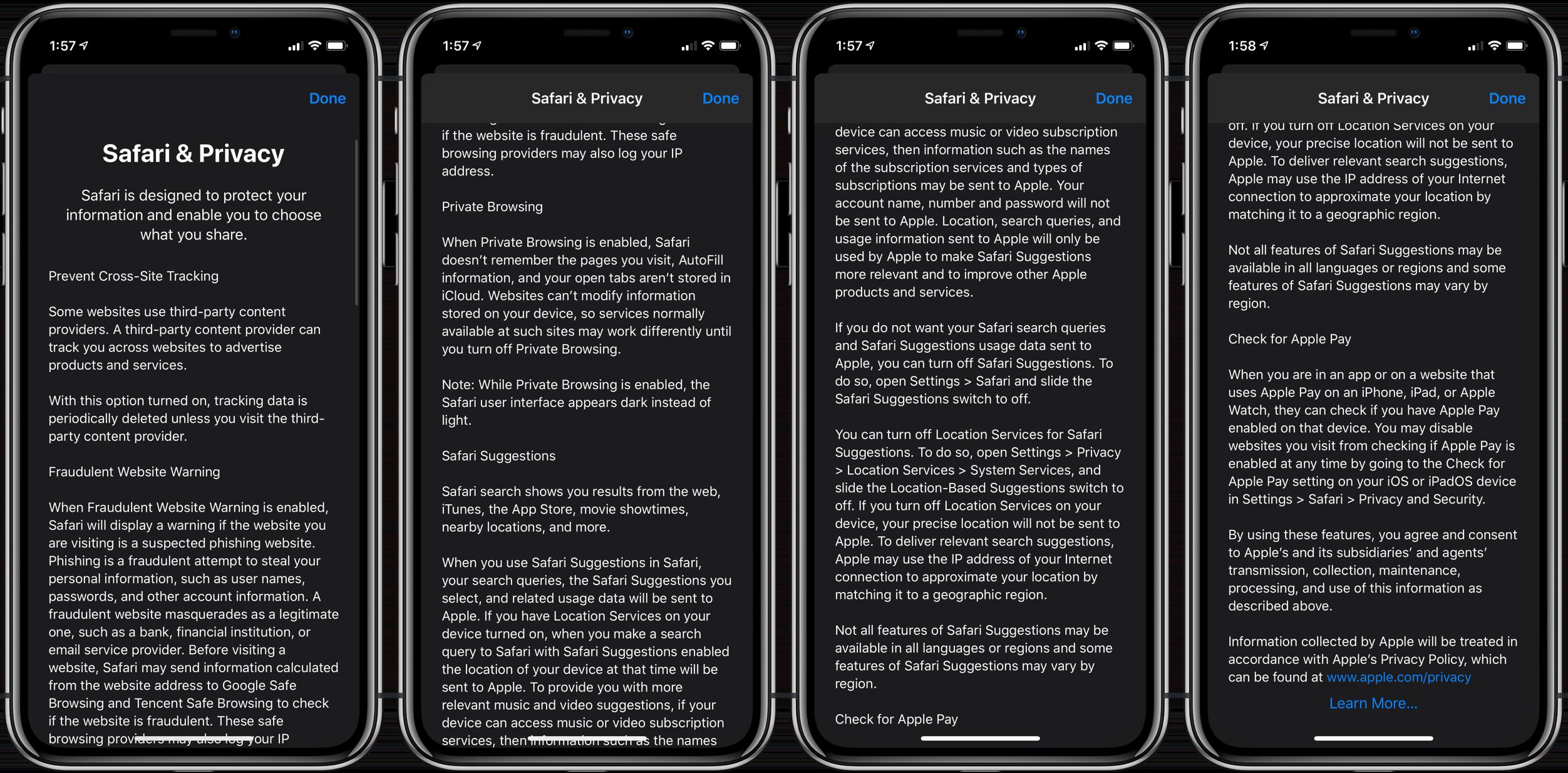 How to customize Safari privacy security iPhone walkthrough 2