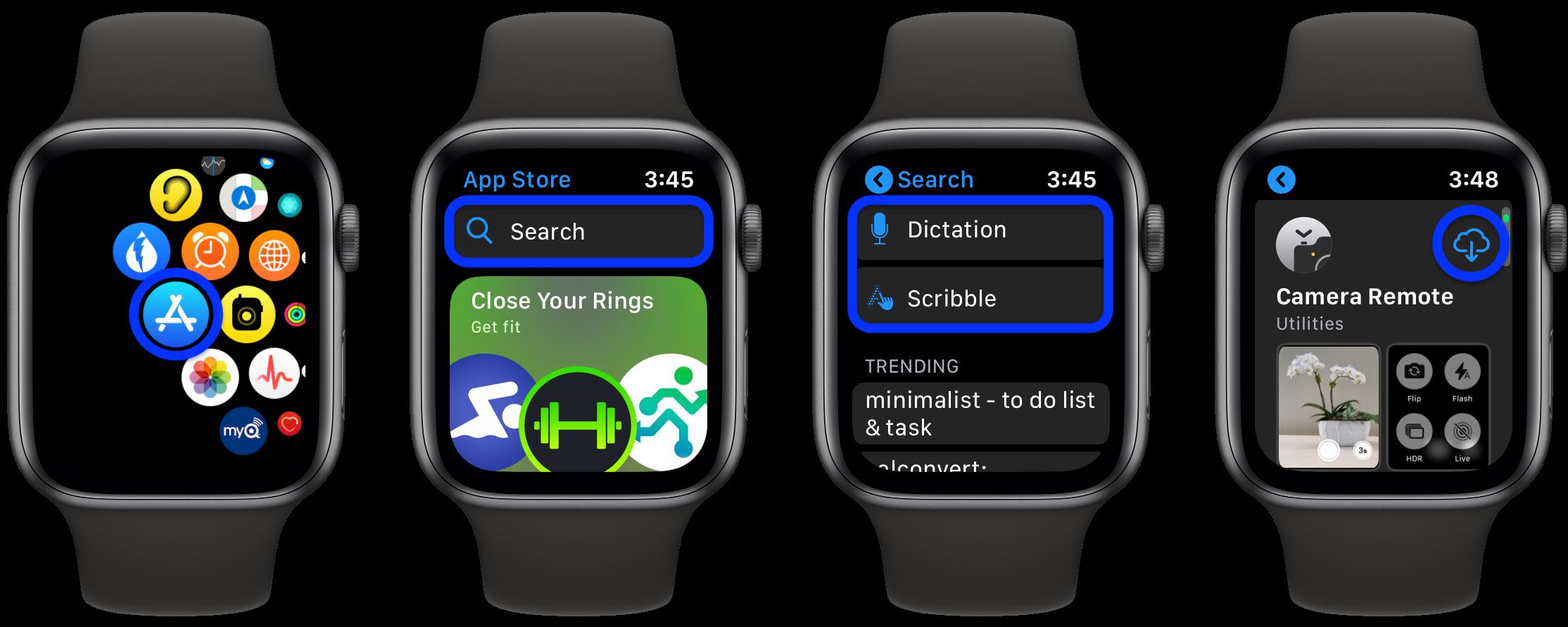 watchOS 6:如何重新安装已删除的 Apple Watch 内置应用?