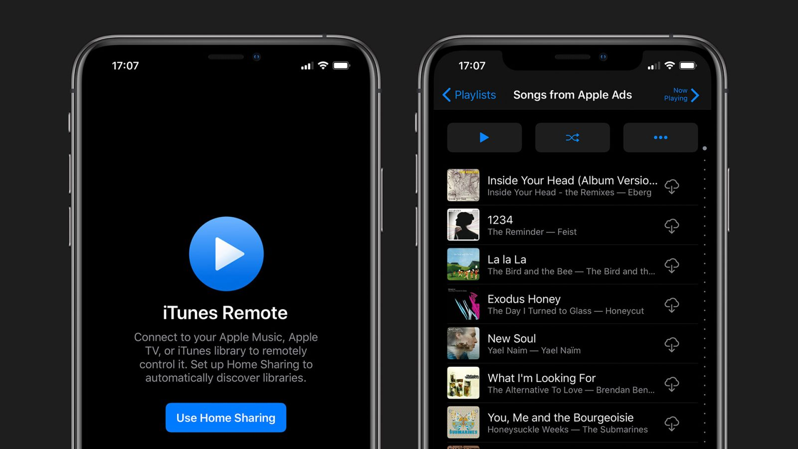 iTunes Remote iOS app updated w/ Dark Mode and improved support for Music and TV apps in macOS Catalina